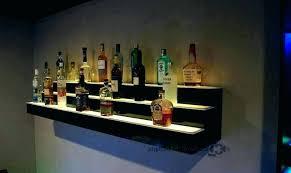 bar shelves for home liquor