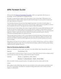 Apa Format Guide 5052hufy8y Humane Fysiologie Studocu