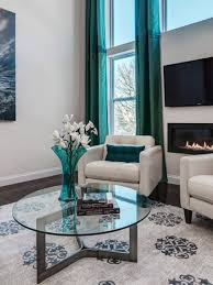 Teal Decorating For Living Room Interior Cool Turkish Greek Key Turquoise Rug Feat Tufted Couch
