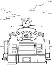 Coloring Pages Paw Patrol Coloring Page Paw Patrol Cartoons