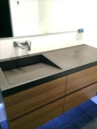 concrete sink diy concrete sink vanities concrete bathroom counter and sink best concrete sink ideas on