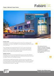 Tensile Structure Design Pdf Hallmark Crown Center Fabric Architecture Pdf Catalogues