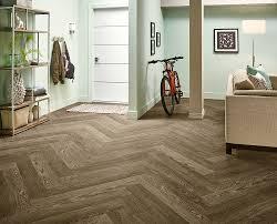 armstrong luxury vinyl plank flooring lvp herringbone floor design light wood look