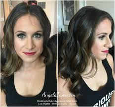 makeup artist team angela tam weddingcelebrity