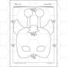 africa art lesson 3 08_1 african art african masks art lessons year 1 2 ks1 on instructions worksheet ks1
