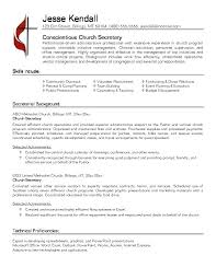 Sample Of Secretary Resume Secretary Resume Example Nice Secretary ...