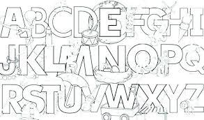 Alphabet Coloring Pages Pdf Beautiful Alphabet Coloring Pages