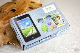 Iconia One 7, tablets, acer