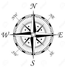 compass design compass symbol isolated on white for design royalty free cliparts