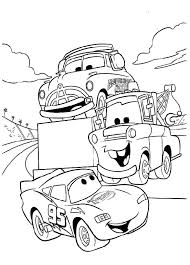 Small Picture Printable Lightning McQueen Coloring Pages Coloring Me