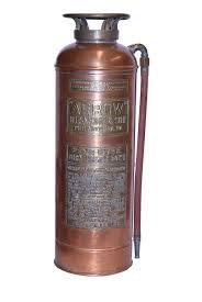 details about antique copper arrow m l snyder and sons fire extinguisher philadelphia pa