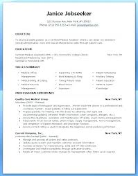 Medical Assistant Resume Skills Best Medical Assistant Resume Skills Elegant Veterinary Assistant Resume