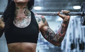 working out after getting a tattoo