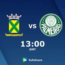 Santo André U20 Palmeiras U20 live score, video stream and H2H results -  SofaScore