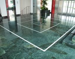 green marble flooring