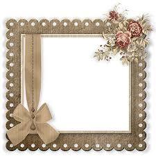 Miriams Scrap Aged Wedding Kit Add Frame Cluster
