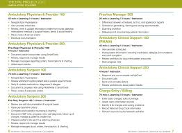 Epic Training Ambulatory And Inpatient Course Catalog Pdf