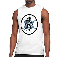 Amazon Com Cross Country Skiing Mens Tank Tops Gym Work