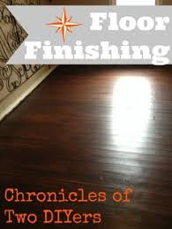 floor finishing chronicles of two diyers american walnut stain on original douglas fir hardwoods