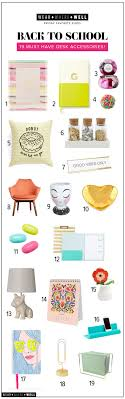 must have office accessories. Wear + Where Well : Back To School - 19 Must Have Desk Accessories Office