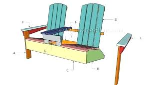 Adirondack Rocking Chair Plans Chair Plans Double Chair Plans