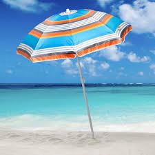 beach umbrella. Sun Blocking Beach Umbrella | Hayneedle A