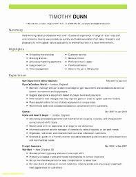 Resume Header Examples Best Of Resume Header Samples Inspirational