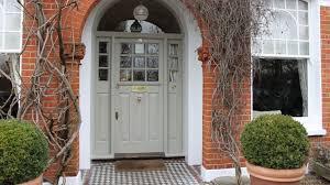 how to re a front door refinish