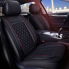 leather decorative car seat cover auto seat cushions for toyota prius 20 30 highlander rav 4