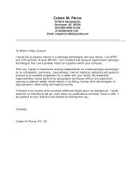 Medical Technologist Resume Cover Letter Journalinvestmentgroup Com