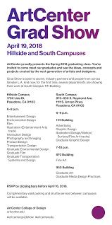 Art Center College Of Design Grad Show Artcenter Grad Show Motor Press Guild