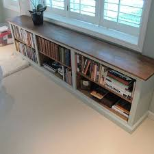 modern low bookcase and shelf furniture the white brown long bookshelf with really encourage for 3