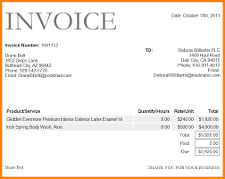 Invoice Template Word 100 invoice sample word document ledger paper 71