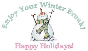 Image result for winter break from school clipart