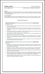 nurse objective resume objective statement for nursing resume graduate nurse resume by