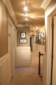 hallway track lighting. Hallway Track Lighting. The Color He Wants Amazing Hallway. Love Paint Color, Painted Lighting L
