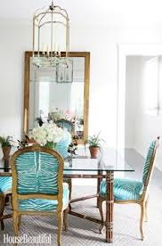 inside a tiny florida cote full of tropical colors dining room chairsdining