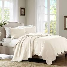 home essence genoa bedding coverlet set variants selector ivory