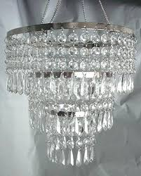 acrylic hanging crystals for chandeliers acrylic crystal hand hooked chandelier intended for elegant household acrylic crystal