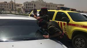 locked car. Ajman Civil Defence Rescue A 20-month-old Boy From Locked Car. Car T
