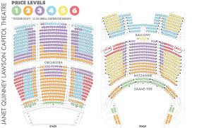 Eccles Theater Salt Lake City Seating Chart Seating Charts Utah Opera