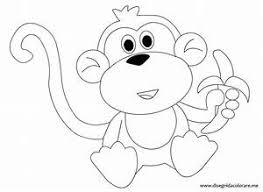 Scimmie Da Colorare E Stampare Ordina Online Il Piccolo E Il Grande
