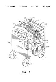 Mechanical electrical medium size patent us5424588 self contained portable pact load bank and drawing simple