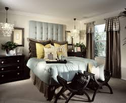 master bedroom design ideas. opulent master bedroom decorating ideas with black furniture and big pillows. two chairs in design r