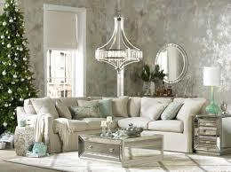 mirrored furniture decor. luxury look living room mirrored furniture holiday decor