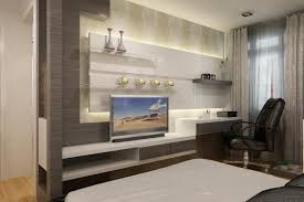 Superior Modern Bedroom Designs   Attached Study And Walk In Closets