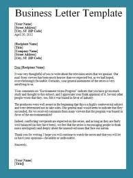 Business Letters Examples Template Unique Writing A Business Letter Template Heartimpulsarco