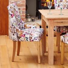 image 1 showing mobel oak.  Mobel Mobel Oak Accent Dining Chair Modena Colourful Fabric In Image 1 Showing