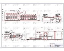 Скачать бесплатно дипломный проект ПГС Диплом № Спортивный  4 Фасад в осях 1 11 фасад в осях 11 1 Разрез 1 1 Разрез 2 2 jpg