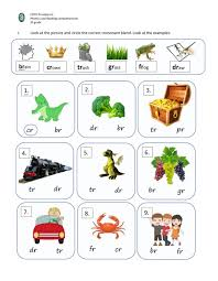 Blends worksheets for teaching and learning in the classroom or at home. Consonant Blends With R Worksheet